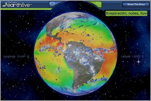 Discovery Earth Live