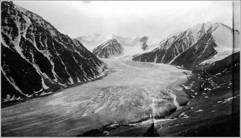 Glaciar Okpilak 1907