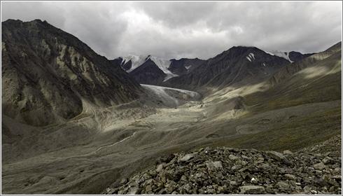 Glaciar Okpilak 2007