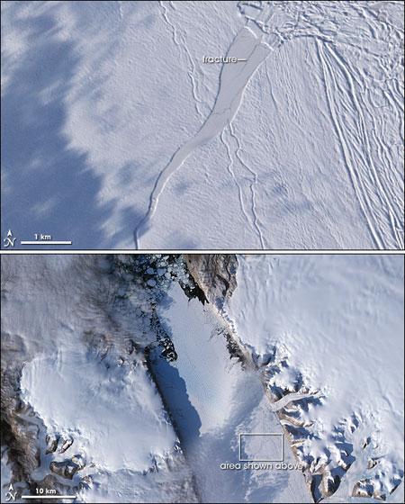 Glaciar-Petermann