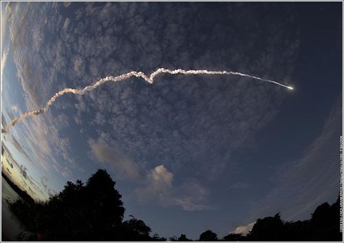 Lanzamiento cohete Ariane 5