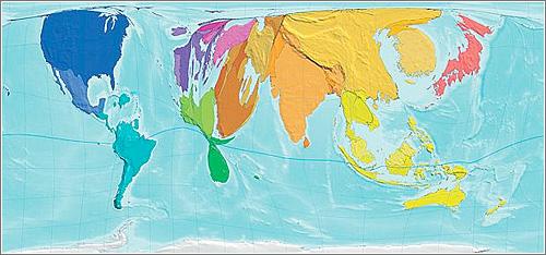 Mapa incremento emisiones CO2