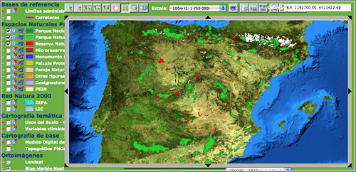 Observatorio de Espacios Protegidos en España