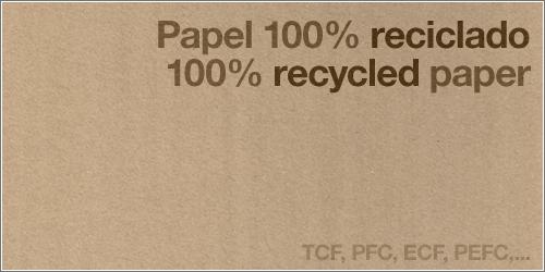 Siglas Papel Reciclado