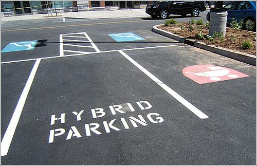 Parking para Hibridos (CC) Kris Griffon