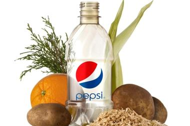 Botella 100% libre de plástico de Pepsi