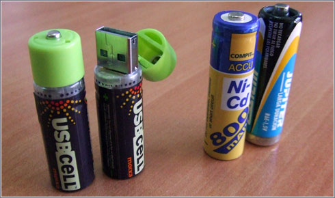 Pilas Recargables USB (USB Cell)
