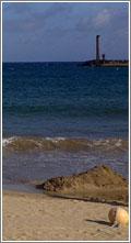 Calor en la playa es...menos calor/ by Alvy