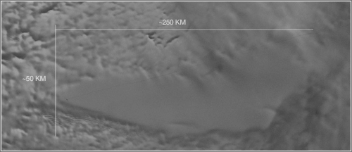 Radar Lago Vostok / NASA GSFC