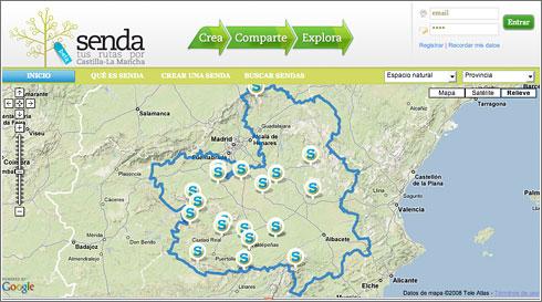 Senda - Rutas por Castilla La Mancha