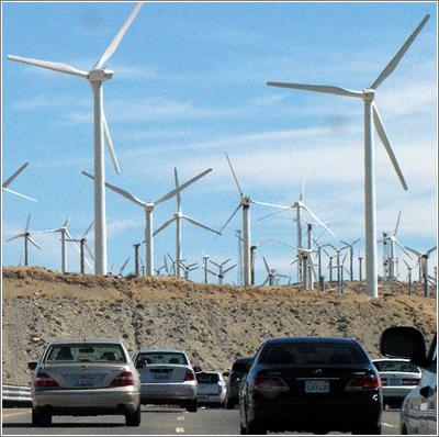 San Gorgonio Wind Farm (CC) Kevin Dooley