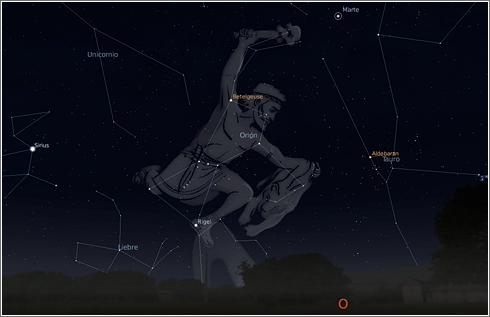 Stellarium Orion