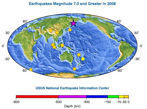 Terremotos de magnitu 7 o más en 2008
