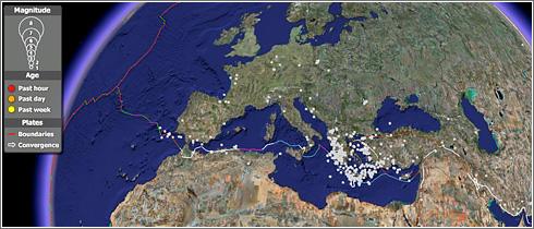 Terremotos Tiempo Real Google Maps