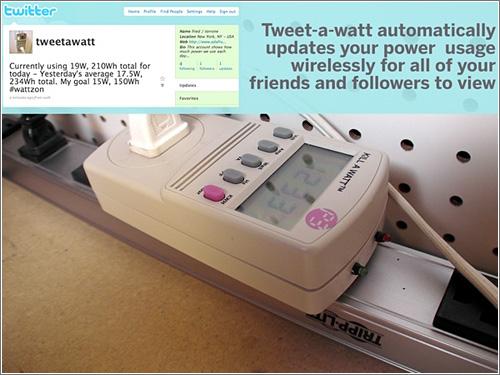 Tweet-A-Watt