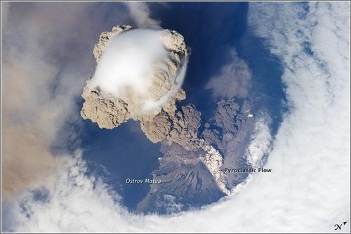 volcán Sarychev