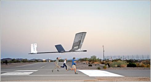 Zephyr avión Solar récords