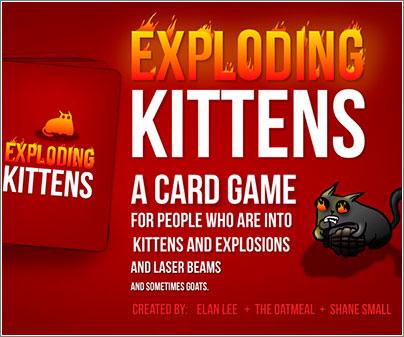 Exploding Kittens T