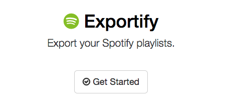 Exportify