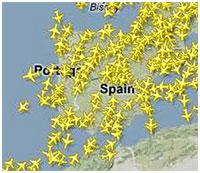 FlightRadar24 Spain