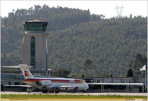Aeropuerto de Alvedro (La Coruña) en AviationCorner