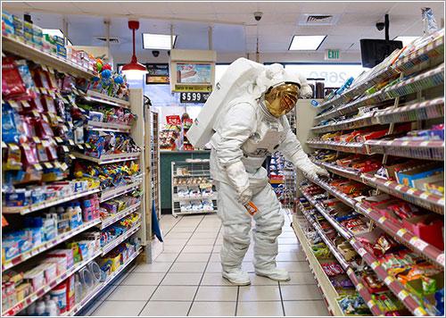 Astronaut Snacks por Hunter Freeman