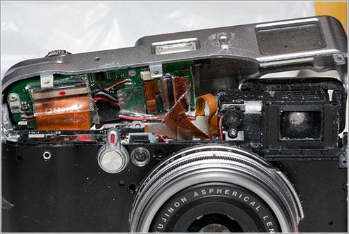 Efectos de la sal en las tripas de la cámara