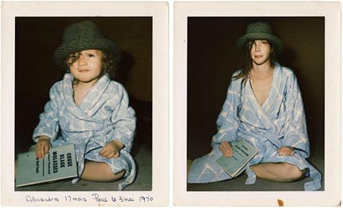 Alexandra 1970 & 2011 Paris por Irina Werning