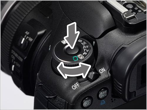 EOS 7D con el botón opcional - Canon