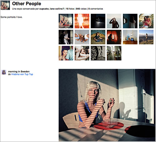 Expo «Other People» en Flickr