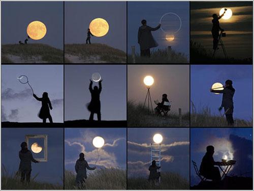 Haciendo el ganso con la Luna - Laurent Laveder