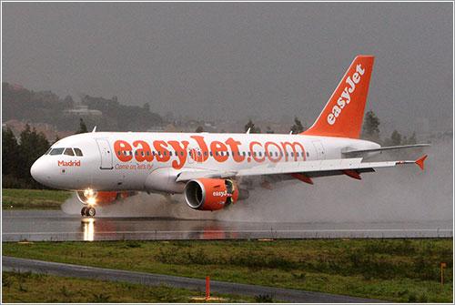 Primer vuelo de EasyJet a La Coruña