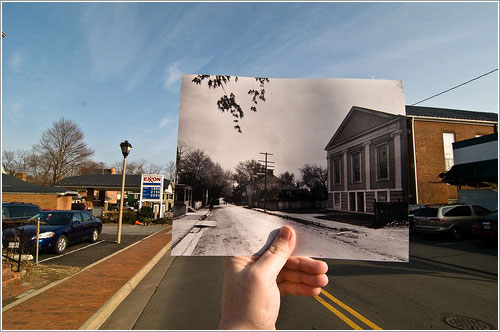 Looking Into the Past: Market Street, Leesburg, VA por jasonepowell
