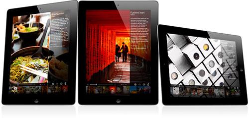 Imágenes del libro en el iPad
