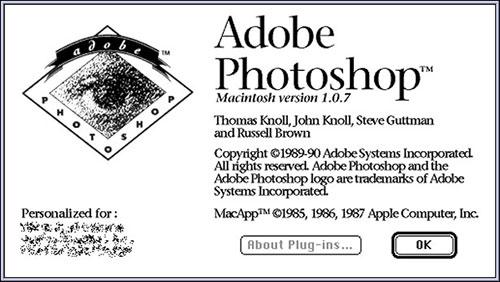 Photoshop 1.0.7