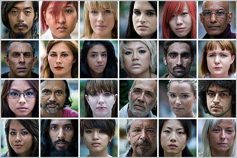 Portraits Of Strangers por Danny Santos
