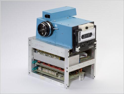 Prototipo de primera cámara digital