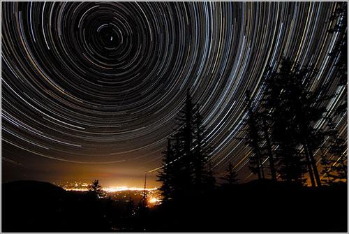 Estelas estelares sobre Oregón - Joshua Bury