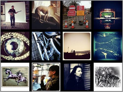 Algunas de las fotos de Ubiquography