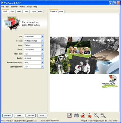 Vuescan software escaneo