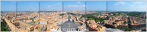 Panorámica del Vaticano tratada en el tutorial.