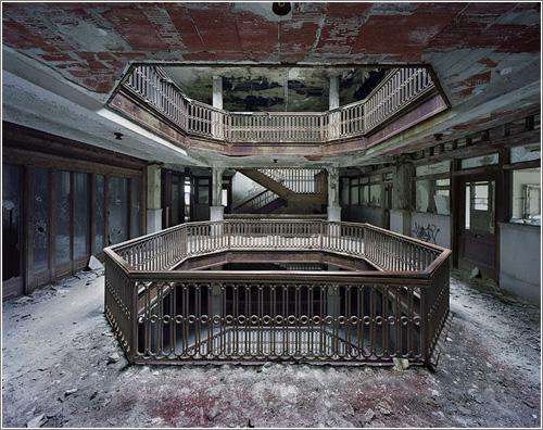 Las ruinas de Detroit © Yves Marchand y Romain Meffre