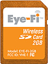 Eye-Fi Wifi Card 2 GB