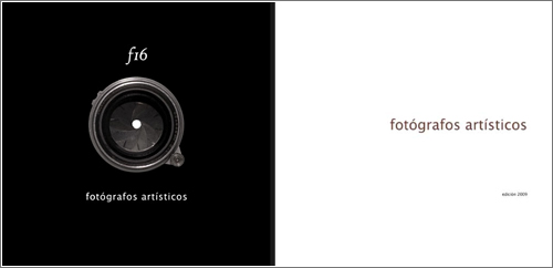 «f16» libro de Fotógrafos Artisticos
