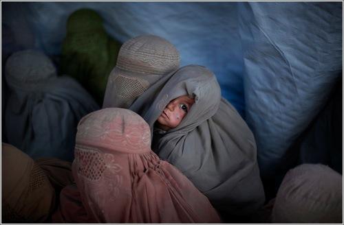 Una de las magníficas fotografías de Emilio Morenatti / AP