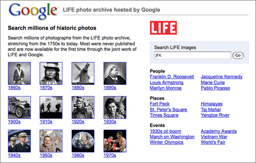 Google-Life-Archive