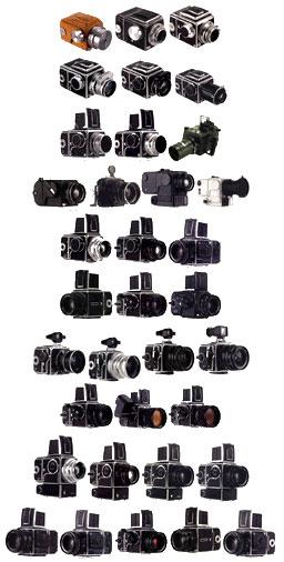 Historia Visual camaras Hasselblad cameras