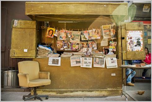 Kioskos de Nueva York © Rachel Barrett / New York Times