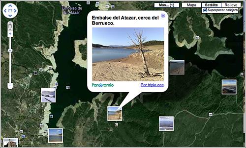 Lugares de interés en Google Maps