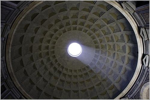 Cúpula del Panteón en Roma